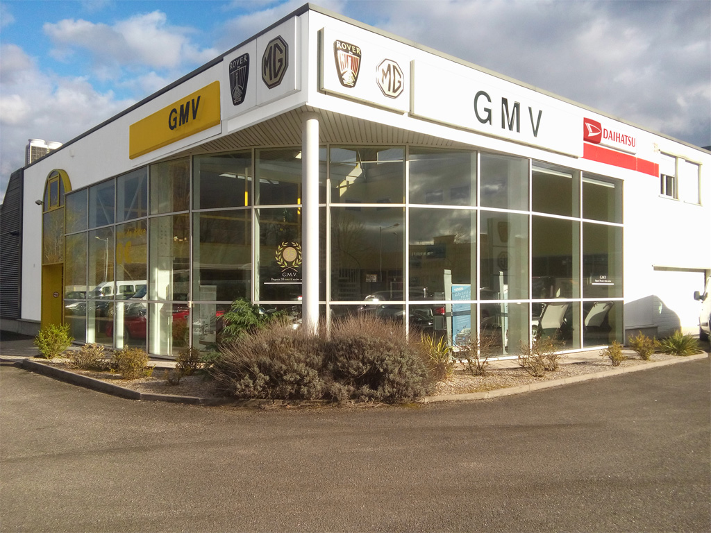 Garage GMV à Strasbourg. Spécialiste MG Rover
