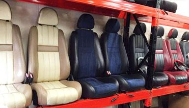 sièges Rover et MG1 garage GMV